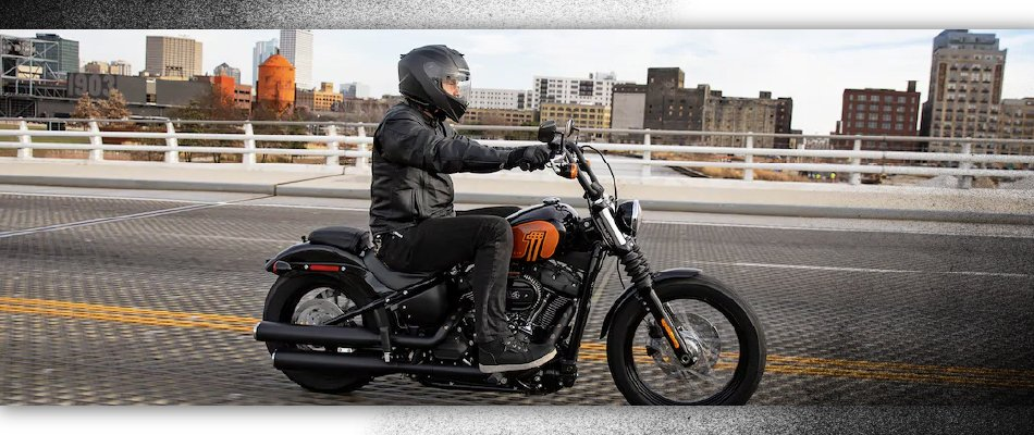 Take a ride to the showroom at Harley-Davidson of Kingwood were you can find new and preowned bikes including the Street Bob