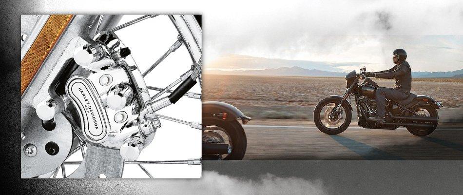 The safest Harley-Davidson have the RSDS system.