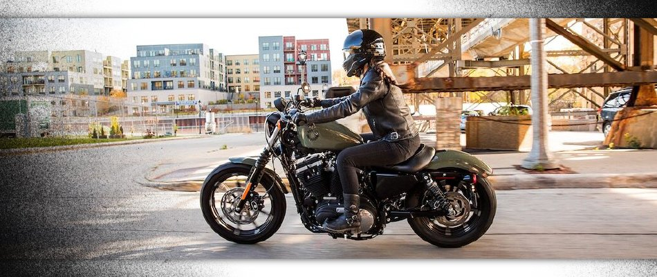 Finding a bike that fits your size and style of riding is important when buying your first motorcycle.