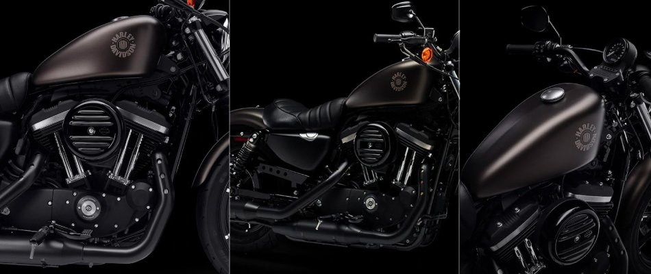 The engine of the 2021 Harley-Davidson Iron 883 delivers