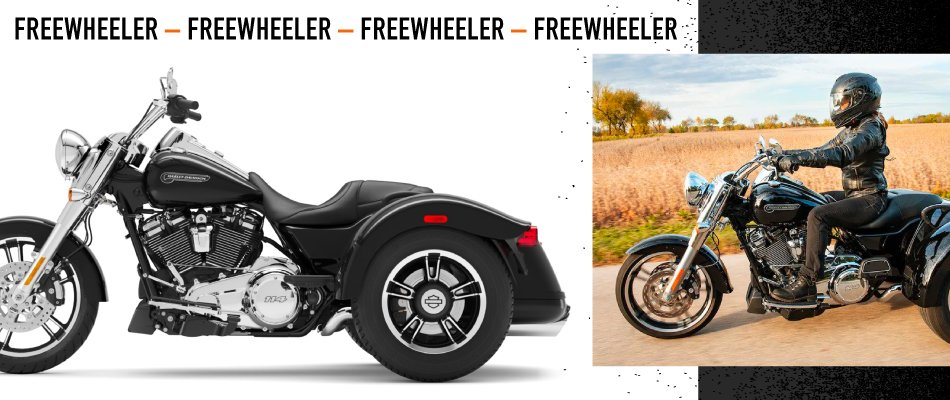 Harley-Davidson Freewheeler have been growing in popularity due to the great features they offer.