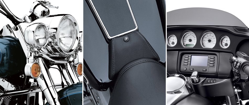 There are many must-have motorcycle accessories for any Harley-Davidson motorcycle.