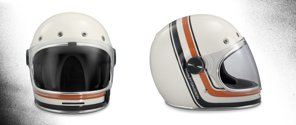 What are the different types of motorcycle helmets?