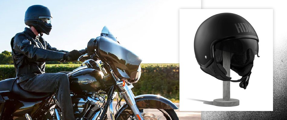 Modular helmets also know as flip up helmets allow the chin strap and visor to lift.