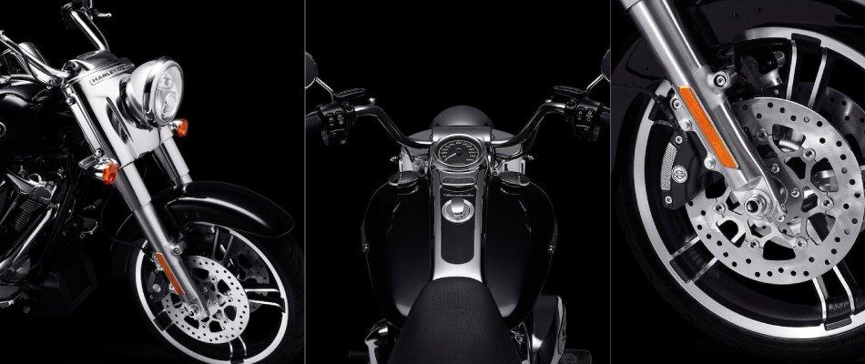 The latest Harley-Davidson Freewheelers offer Reflex Defensive Rider Systems.